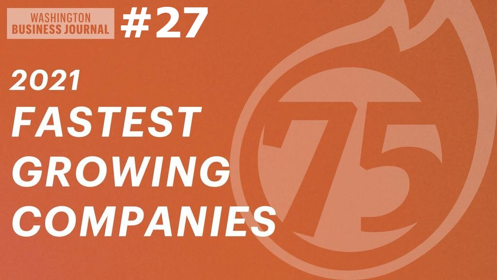 Washington Business Journal's annual list of America's Fastest-Growing Private Companies1